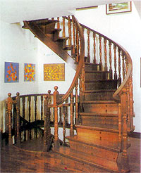 Wooden Staircase - OP-036