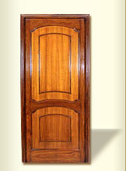 Super Deluxe Wooden Panel Door