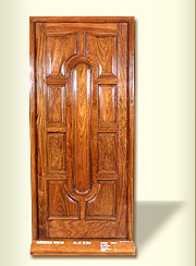 Fancy Oriental Heavy Panel Door