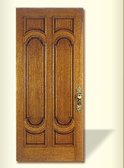 Heavy panel Wooden Door