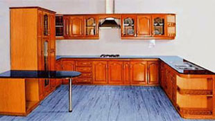 Wooden Kitchen Cabinets - OP-K005